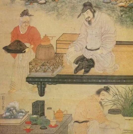 描绘了当时煮茶的情景-万能良药 热开水如何炼成的 不喝不是中国人图片