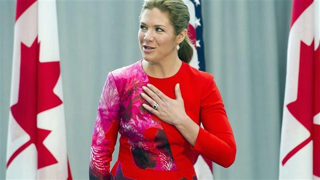 Zimonjic报道说,加拿大联邦政府总理特鲁多的夫人苏菲格雷.特鲁多
