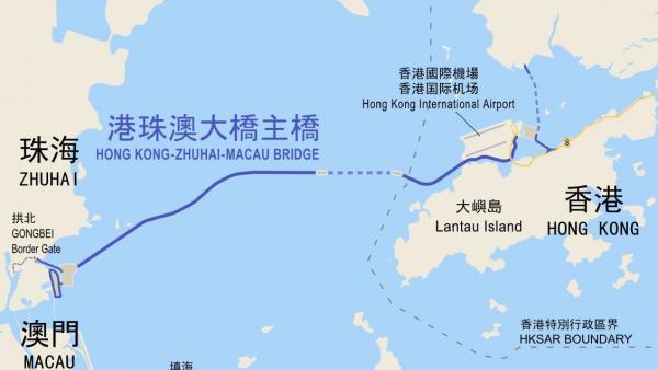 中国的珠港澳大桥-世界最新七大奇迹工程 北京新建机场居首